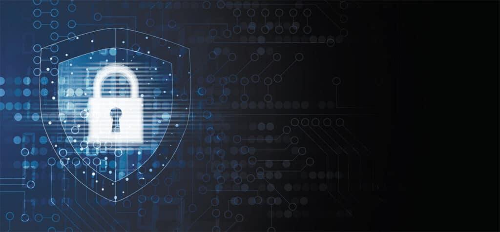 Sicherheitsschloss Internet