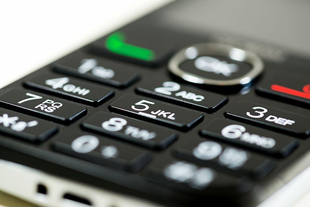 Tastentelefon für SMS