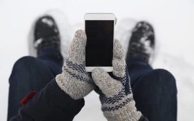 Kalt, kälter, Smartphone!